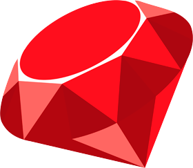 Ruby on Rails big logo